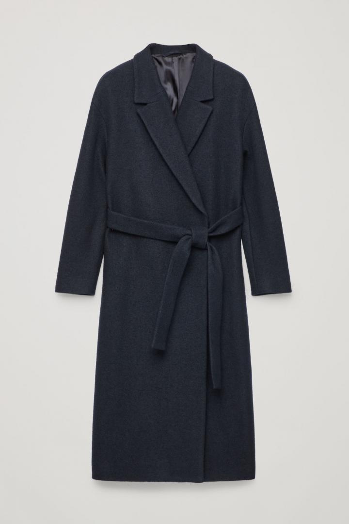 Отзыв на С поясом Шерсть пальто из Интернет-Магазина
