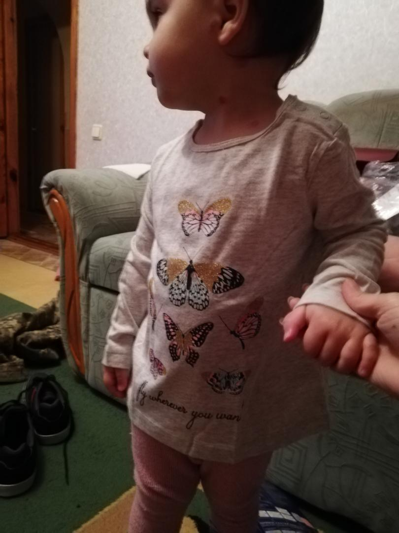 Отзыв на LUPILU® 2 рубашка с длинным рукавом для девочки малыша из Интернет-Магазина LIDL