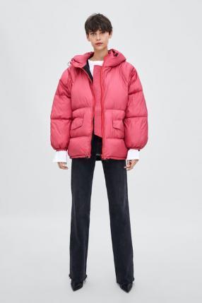 Отзыв на ОВЕРСАЙЗ-STEPPJACKE с полосами из Интернет-Магазина Zara