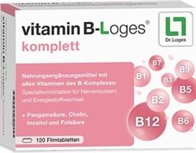 Отзыв на VITAMIN B-loges komplett Filmtabletten 120 St из Интернет-Магазина Best-arznei