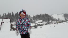 Лыжная куртка - Монстр, рефлексивный, Капюшон