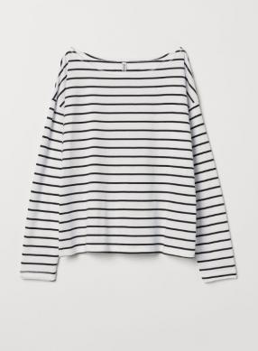 Рубашка с U-Лодка-Образным Вырезом