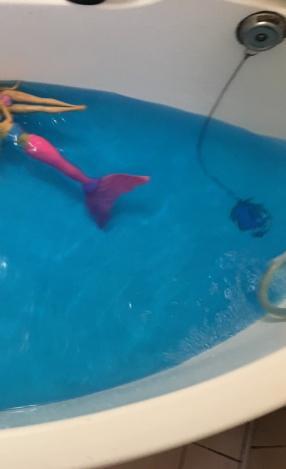 Badezusatz Badeperlen blau, 60 g