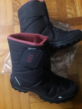 Снег сапоги Зимние походы SH100 Х-Теплый водонепроницаемый для женщин черный