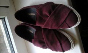 ONYGO для женщин слиперы современные Натуральная кожа Летняя Обувь Софи Бордо