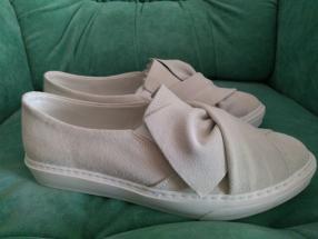 ONYGO слиперы удобные для женщин Натуральная кожа Летняя Обувь Софи Светло-серый