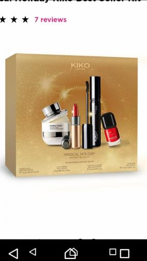 Magical Holiday Kiko Best Seller Kit