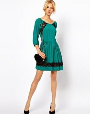 Отзыв на ASOS – Тарелки платье с кружевом из Интернет-Магазина Asos