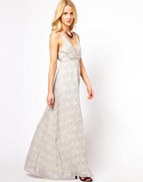 Отзыв на Vero Moda – Длинная, с принтом Платье из Интернет-Магазина Asos