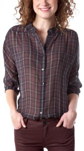 Отзыв на Женская Клетчатая Блузка из Интернет-Магазина Promod