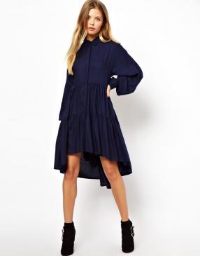 Отзыв на ASOS – Многослойное Свинг-Рубашка-Платье из Интернет-Магазина Asos