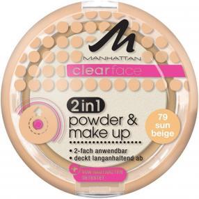 Отзыв на Clear Face 2in1 Powder  Make Up - Лицо от Manhattan из Интернет-Магазина Parfumdreams