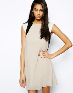 Отзыв на TFNC – Платье с разноцветными вставками из Интернет-Магазина Asos