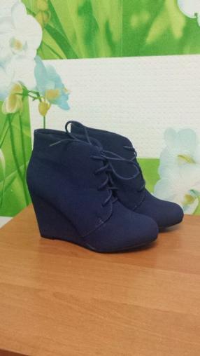 Отзыв на Синие ботинки из Интернет-Магазина Ital Design