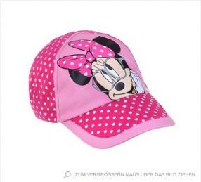 Отзыв на Disney Minnie Кепка розовый из Интернет-Магазина Lamaloli