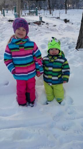 Отзыв на Снеговые брюки на девочку из Интернет-Магазина Ernsting