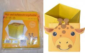 Отзыв на коробка жираф из Интернет-Магазина MyToys