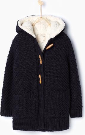 Отзыв на КАПЮШОН ветровка с ВЯЗАНИЕ из Интернет-Магазина Zara