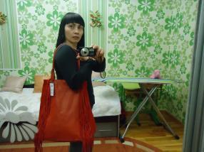 Отзыв на ASOS – большая сумка для покупок с кожи с Бахрома отделкой из Интернет-Магазина Asos