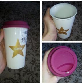 Отзыв на Кружка кофе с Крышка из Интернет-Магазина Ernsting