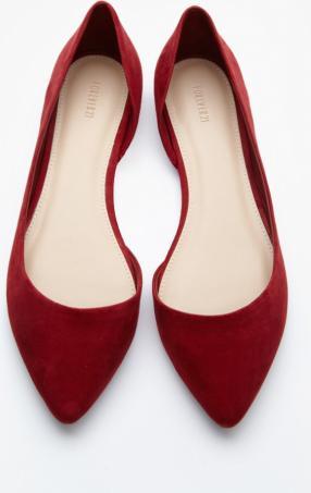 Отзыв на балетки лодочки червоні из Интернет-Магазина Forever 21