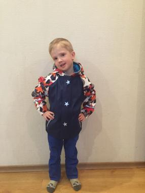 Отзыв на LUPILU® для мальчика малыша дождевик из Интернет-Магазина LIDL