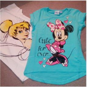 Отзыв на Disney Minnie двойная футболка голубой из Интернет-Магазина Lamaloli