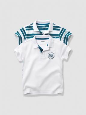 Отзыв на 2-пары Рубашки поло для мальчика из Интернет-Магазина Vertbaudet