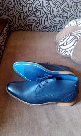Отзыв на Кожаные ботинки для мужчин из Интернет-Магазина Promod