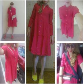 Отзыв на Платье-рубашка из Интернет-Магазина MANGO outlet