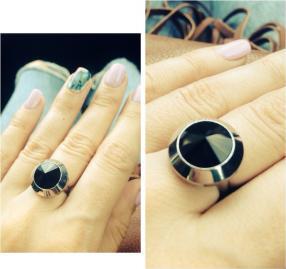 Отзыв на Silvity's Кольцо с черный Swarovski Горный Хрусталь из Интернет-Магазина Silvity