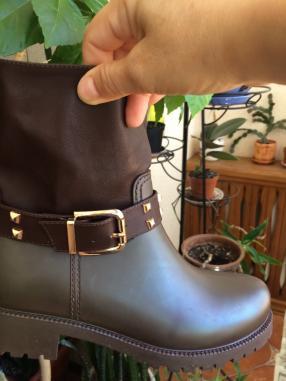 Отзыв на Резина для женщин ботильоны Темно-коричневый из Интернет-Магазина Ital Design