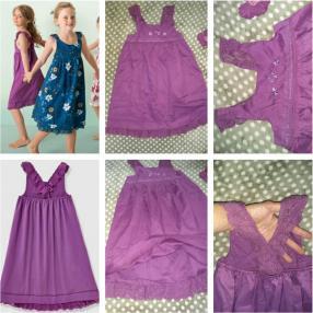 Отзыв на Платье для девочки из Интернет-Магазина Vertbaudet