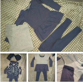 Отзыв на Для девочки Набор с   свитер из Интернет-Магазина Vertbaudet