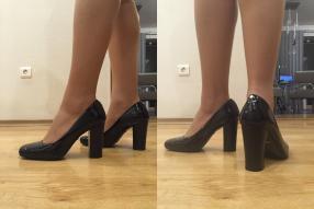 Отзыв на Туфли на высоком каблуке черные из Интернет-Магазина Amazon