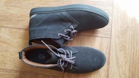 Отзыв на ботинки, цвет серый, разм 43 из Интернет-Магазина Riverisland.de