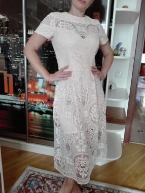 Отзыв на Платье миди с кружевом из Интернет-Магазина Riverisland.de
