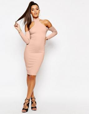 Отзыв на Платье миди с  и шнуровкой из Интернет-Магазина Asos