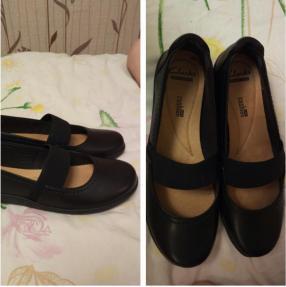 Отзыв на Туфли кожа Туфли на высоком каблуке черные из Интернет-Магазина  Clarks f5d35d9894021