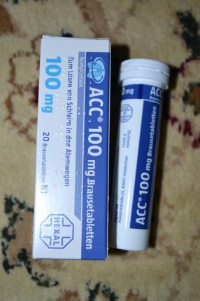 Отзыв на ACC 100 Brausetabletten 20 St из Интернет-Магазина Best-arznei
