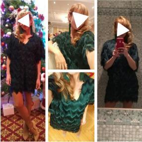 Отзыв на Платье с бахромой из Интернет-Магазина H&M