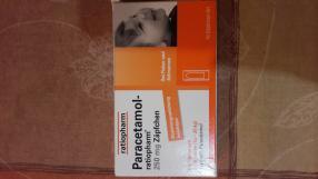 Отзыв на PARACETAMOL ratiopharm 250 mg Kleinkdr.-Suppos. 10 St из Интернет-Магазина Best-arznei