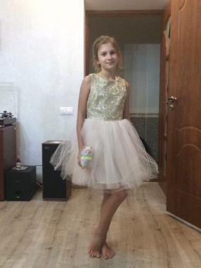 Отзыв на Бальное платье с вышивкой из Интернет-Магазина H&M