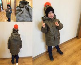 Отзыв на Куртка хаки из Интернет-Магазина Vertbaudet