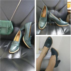 Отзыв на Кожаной обуви с ПУНКТОМ из Интернет-Магазина MANGO outlet