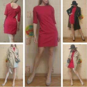 Отзыв на Платье с V-образным вырезом из Интернет-Магазина MANGO outlet