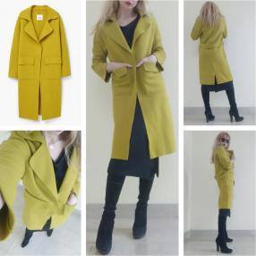 Отзыв на Шерстяное пальто с карманами из Интернет-Магазина MANGO outlet