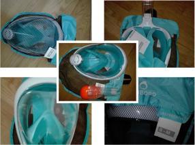 Отзыв на Шноркель маска Easybreath голубой SUBEA из Интернет-Магазина Decathlon