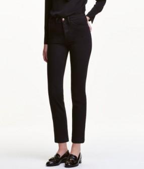 Отзыв на Ровные  джинсы с высокой талией из Интернет-Магазина H&M