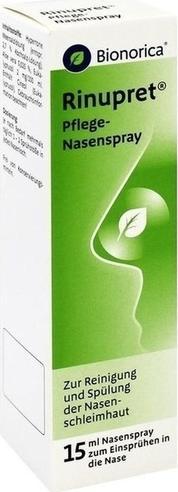 Отзыв на RINUPRET Pflege Nasenspray 15 ml из Интернет-Магазина Best-arznei